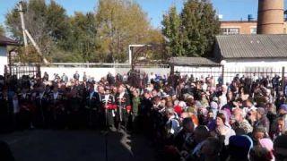 Освящение Георгиевского храма в поселке Кавказском